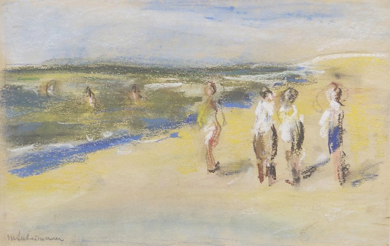 Max Liebermann: Bathers on the Beach, c. 1910<br />Kunstkreis Berlin GbR, photo: Julia Jungfer, Berlin