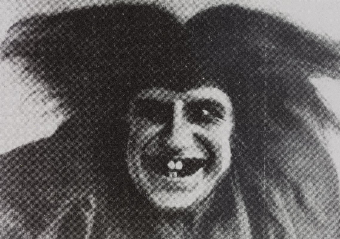 Leonard Steckel in Barlach's play 'The Dead Day' at the Volkstheater Berlin, 1923, director: Paul Günther