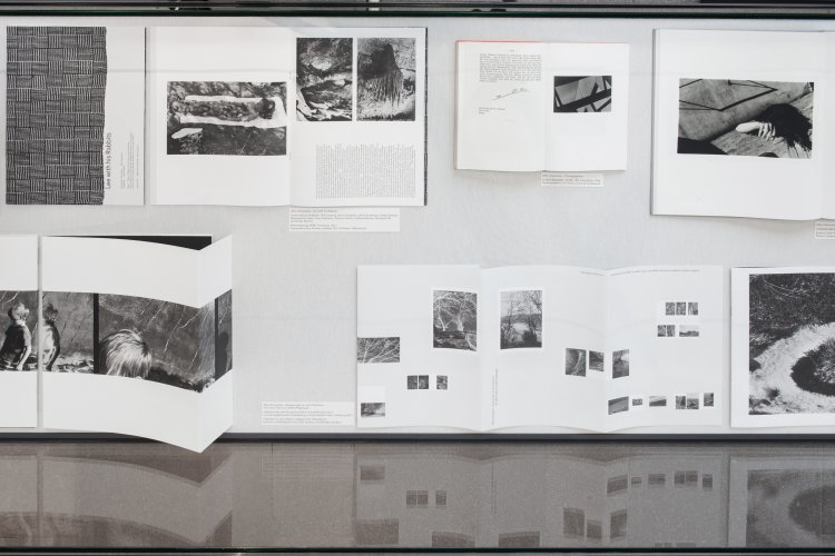 Silke Grossmann: Artist books from 1992 to 2017. Exhibition Movements on the Periphery 2017/18
