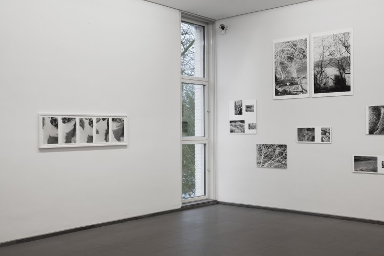 Exhibition view Silke Grossmann. Movements on the Periphery, Ernst Barlach Haus 2017/18