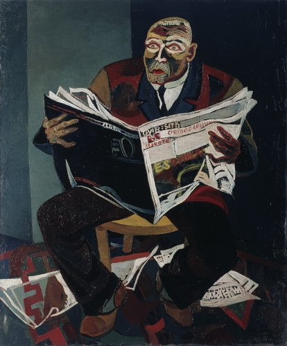 Josef Scharl: The Newspaper Reader, 1935
