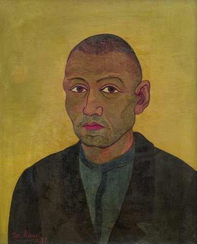 Josef Scharl: Portrait of a Worker II, 1933
