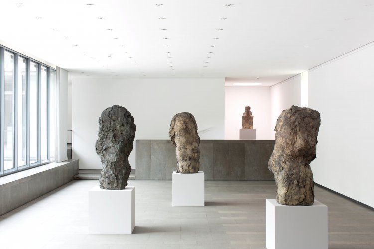 Exhibition view »Hans Josephsohn. The Thing has to Live«, Ernst Barlach Haus 2014