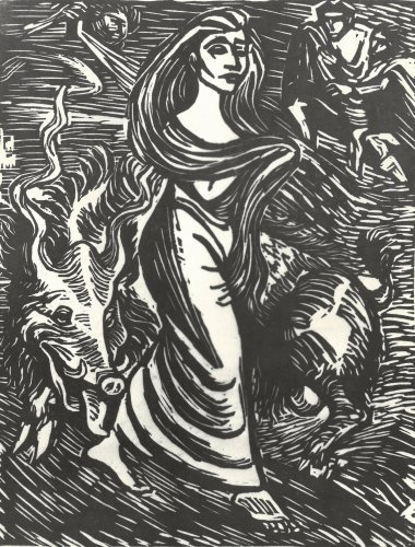 Lilith, Adam's First Wife, 1923, Ernst Barlach Haus Hamburg