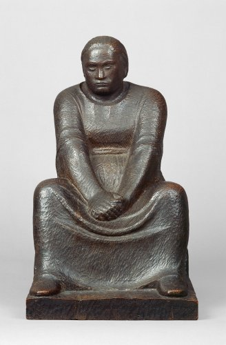 Ernst Barlach: Brooding Woman, 1910