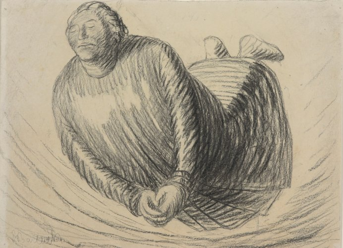 Ernst Barlach: The Hovering One, 1912