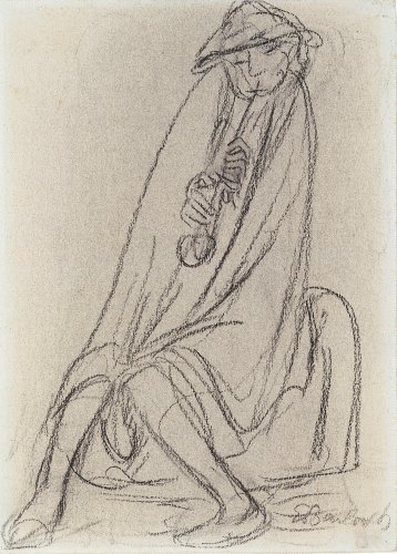 Ernst Barlach: The Flute Player, 1919/20